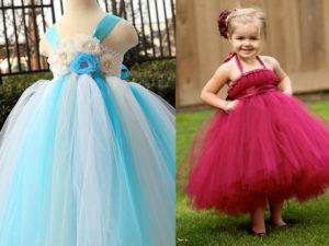 роскошное платье для девочки