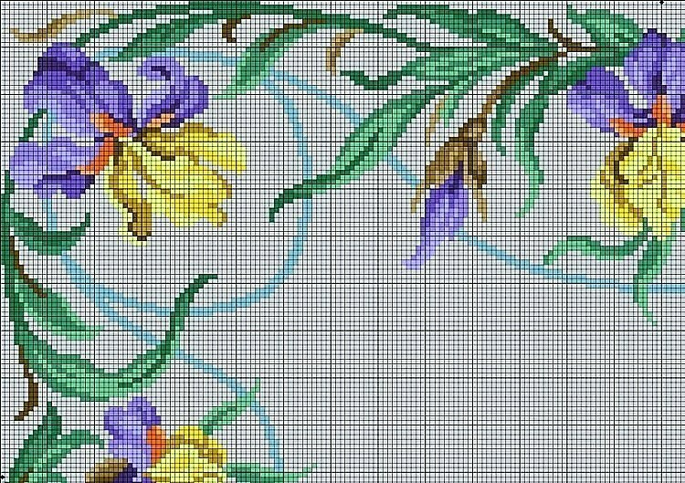 цветы - угол