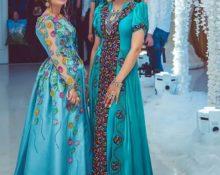 фасоны туркменских платьев