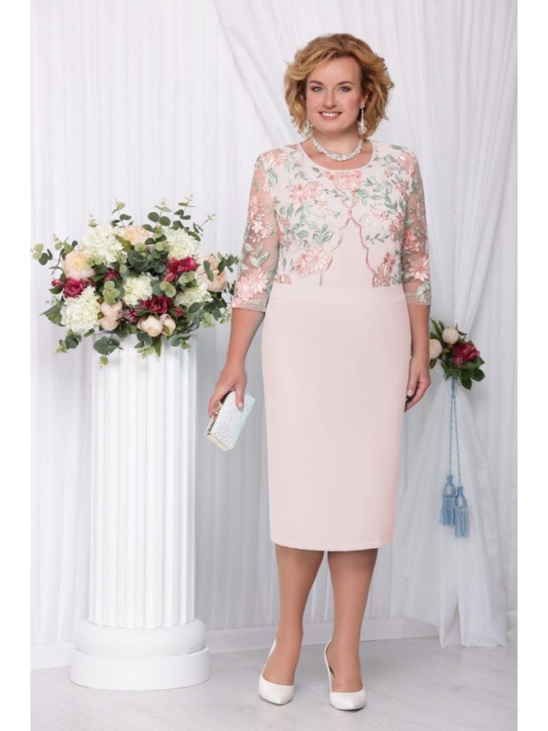 нарядные платья для женщин за 50