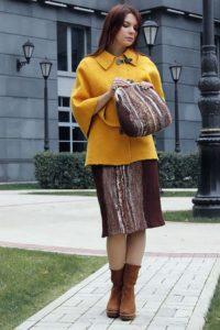 валяная юбка и сумка