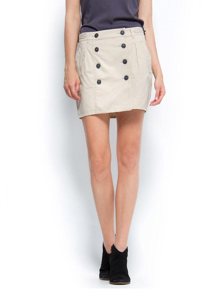юбка с пуговицами