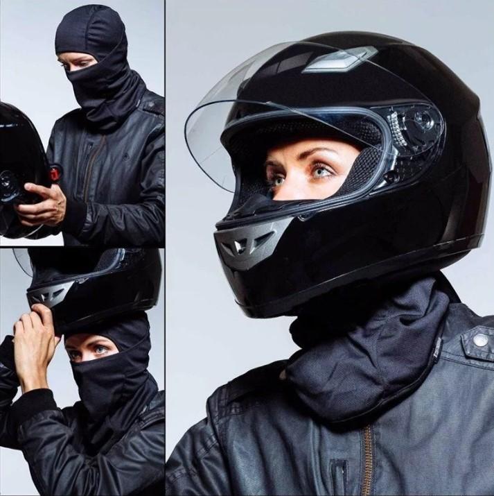 Балаклава из флиса под шлем