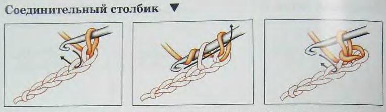 Браслет крючком схема 1