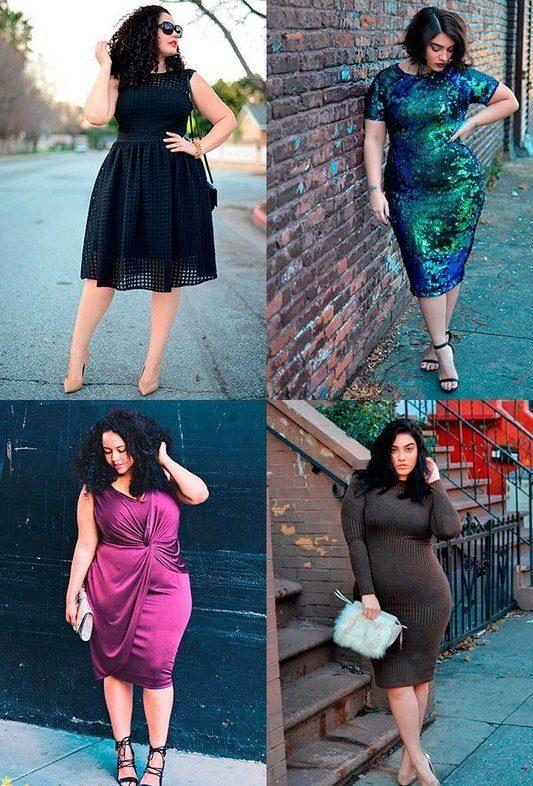 Платья для полных дам сверкающие