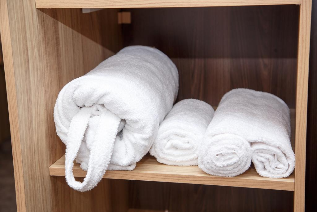 Полотенце хранить на полке