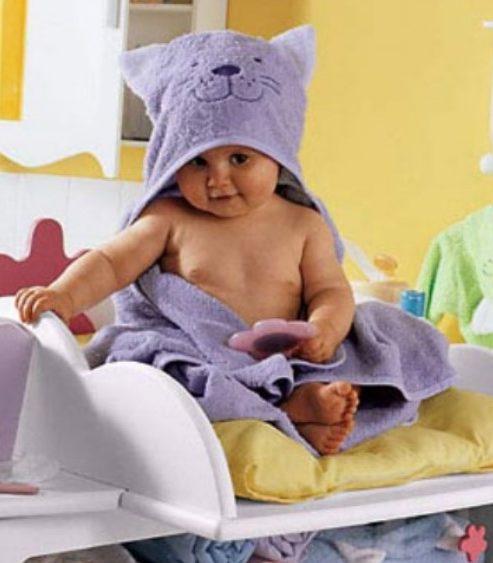 Полотенце махровое детское