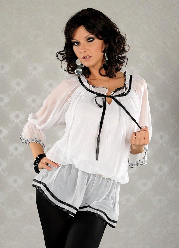 Шифон нарядная блузка 3