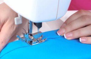 Шов как подшить низ юбки или платья 4