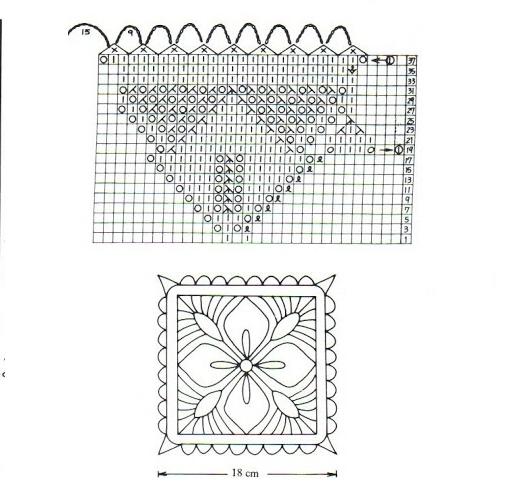 Скатерть спциами схема 1