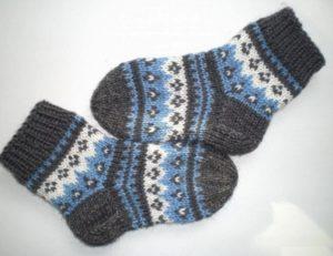 Узоры для детских носков