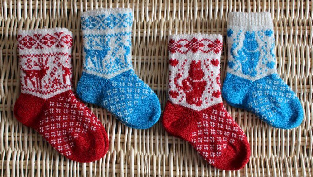 Узоры для носков рождество 2