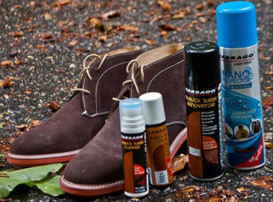 Замша искусственная обувь чем покрасить