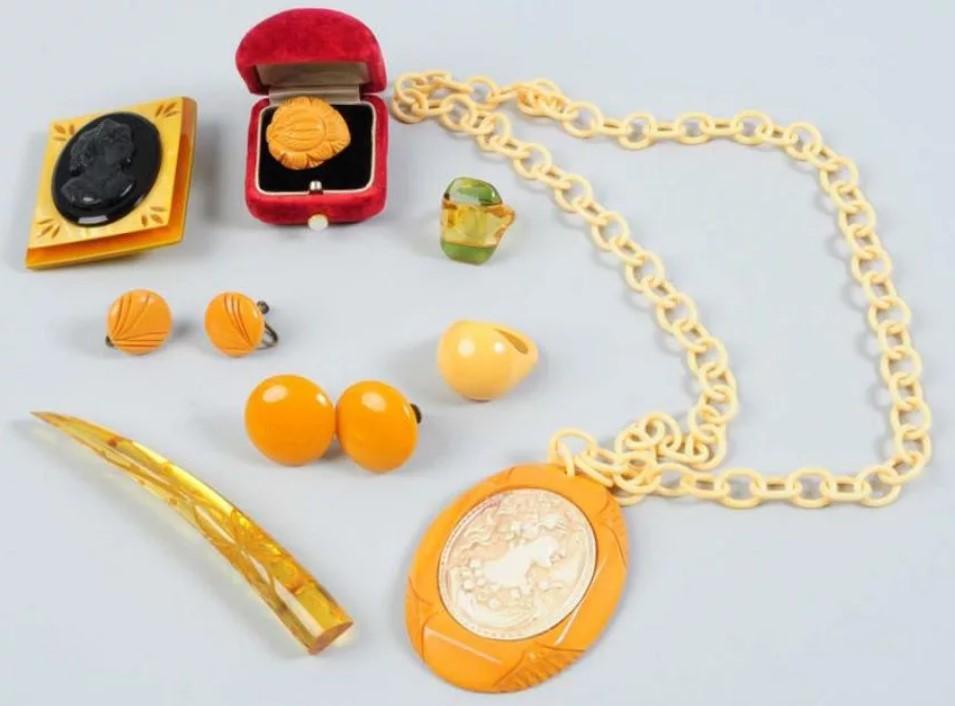 бакелит желтый
