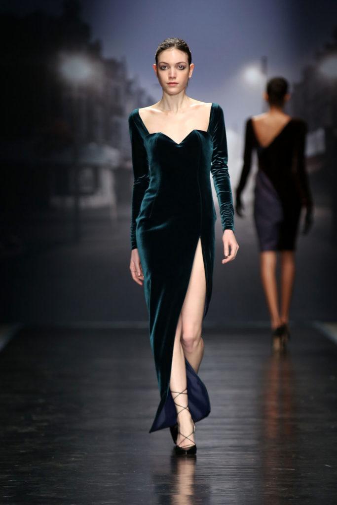 пример длинного платья