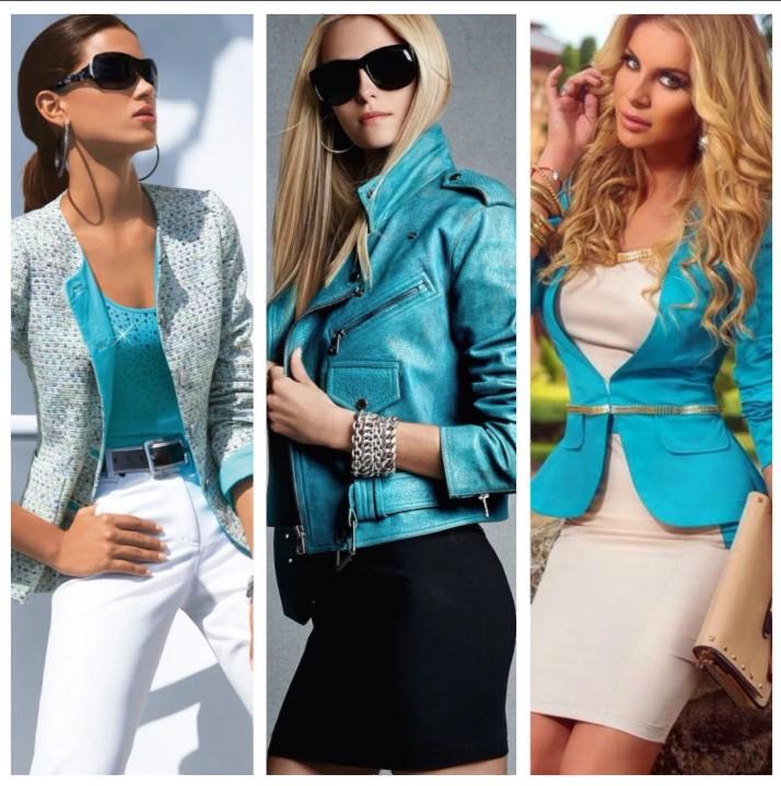 бирюзовый цвет пиджак