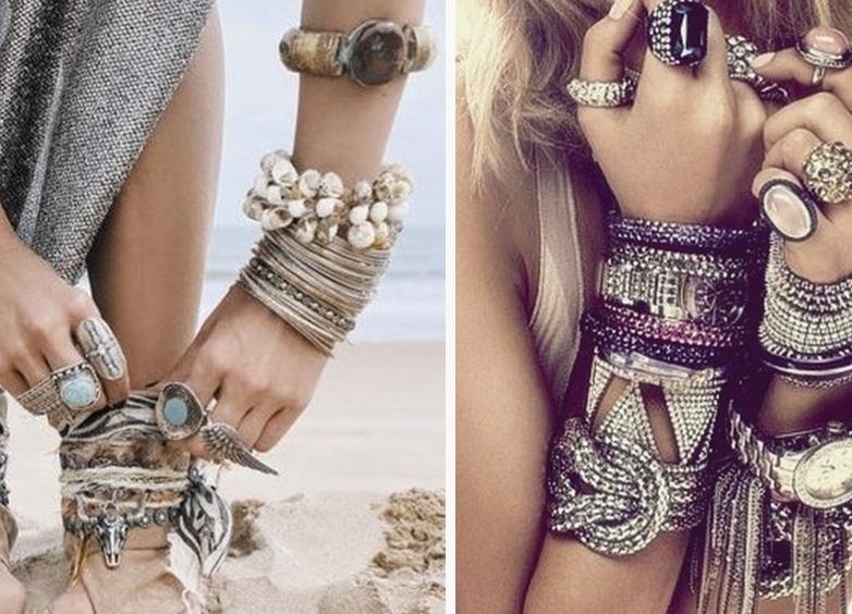 браслеты на руки и ноги