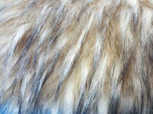 длинноворсовый мех енот