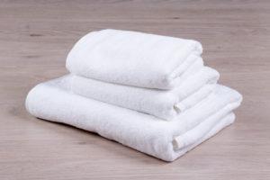 как отбелить белые полотенца