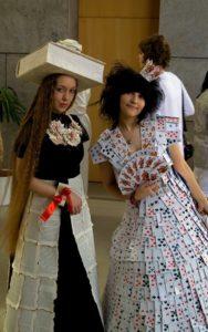 платье из подручных материалов своими руками