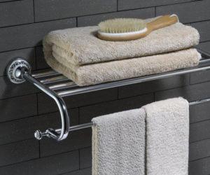 полотенце в ванной комнате