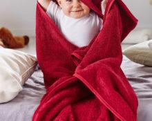 как сшить полотенце с капюшоном для ребенка