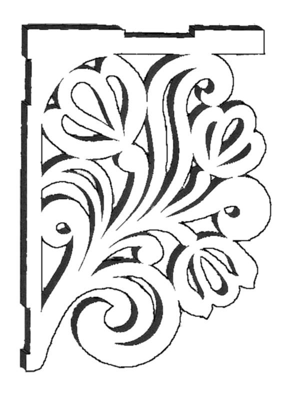 чертеж для деревянной
