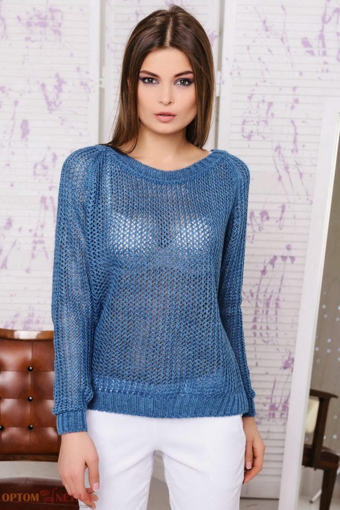 свитер из тонкой пряжи своими руками