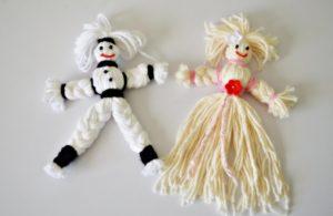куклы из пряжи