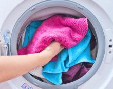 при какой температуре стирать полотенца