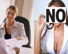 Что не следует надевать на собеседование при приеме на работу
