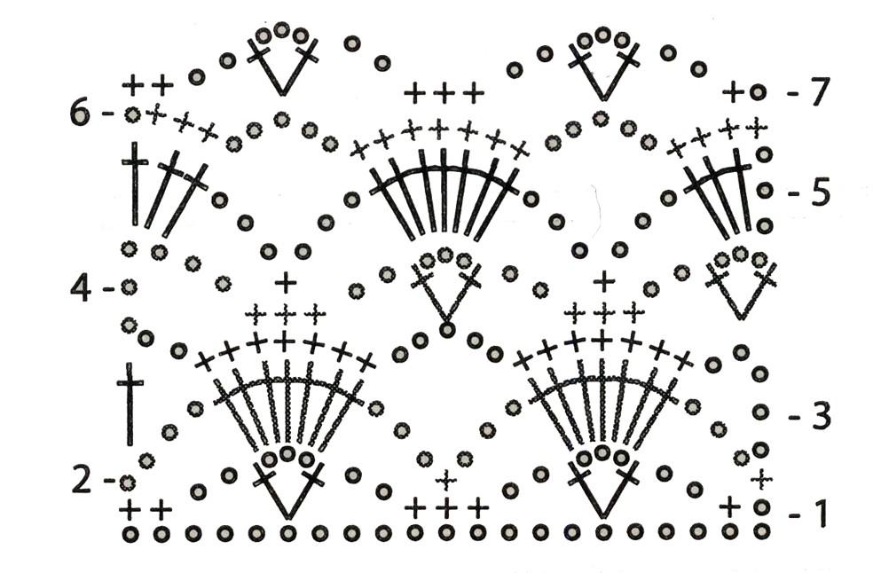 схема вязания носков своими руками