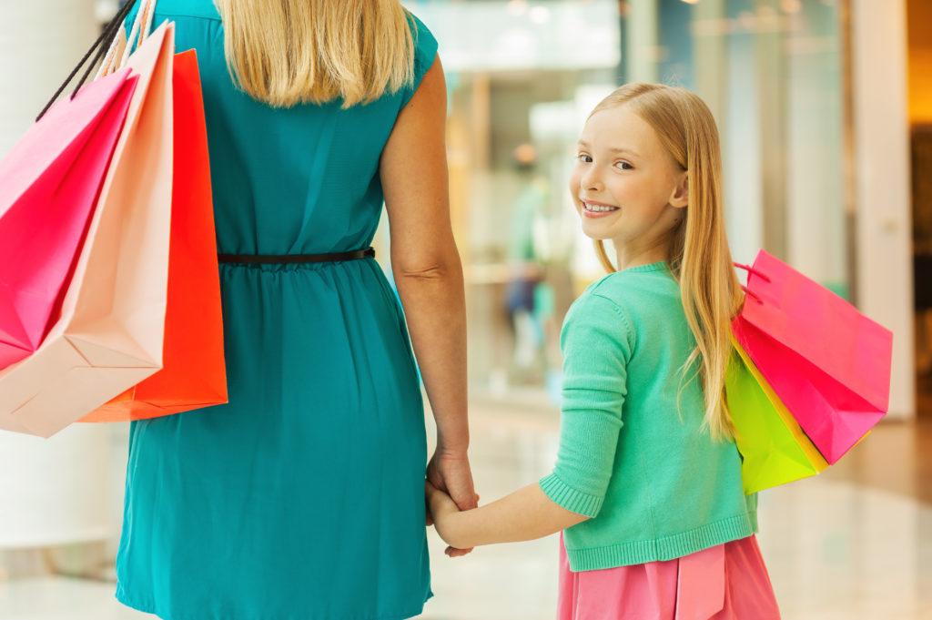 шопинг с мамой