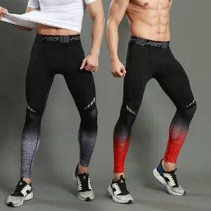 спортивные мужские колготки