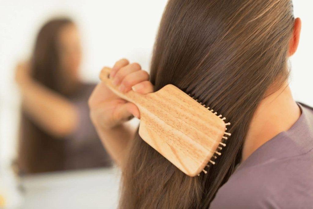 волосы с расчёски