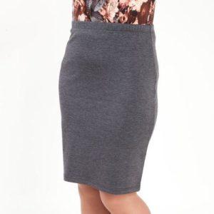 трикотажная юбка на резинке