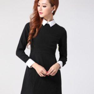 воротник для платья с круглым вырезом