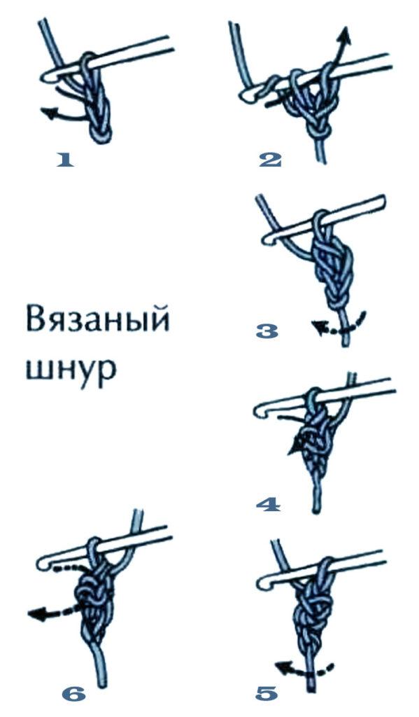 как связать шнур