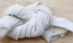 узел из полотенца