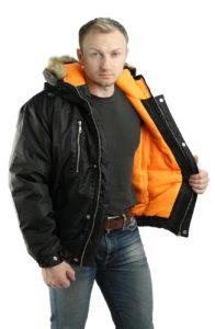 Укороченная куртка для мужчин