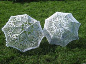 схемы вязаных зонтов
