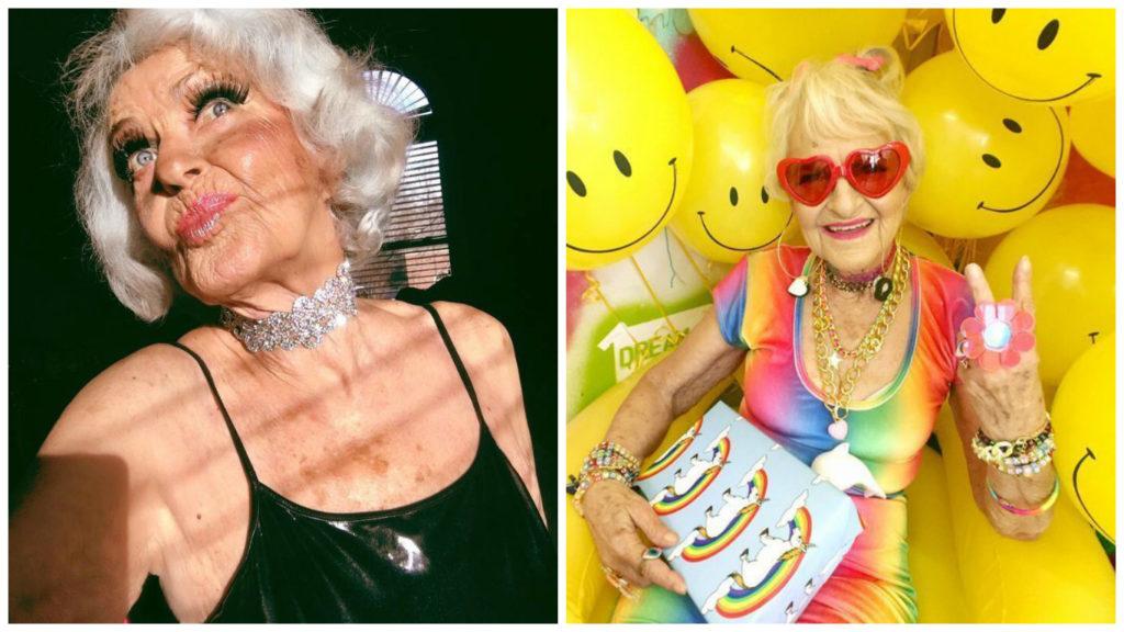 Самая модная бабушка в мире