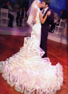 свадебное платье Кристины Агилеры