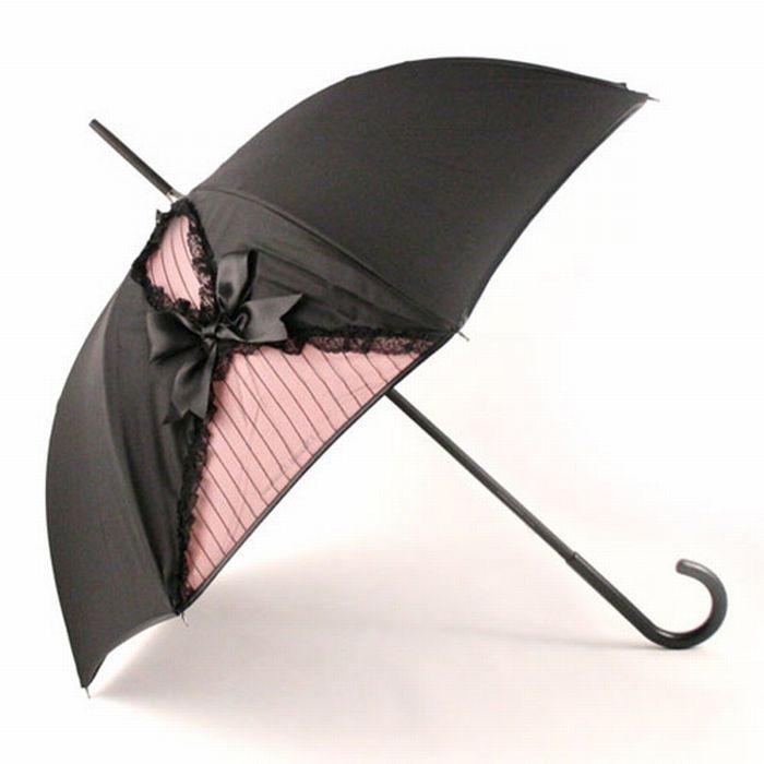 тёмный зонт