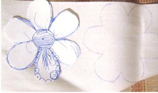 Делаем украшение в виде цветка