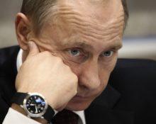 Russian Prime Minister Vladimir Putin at