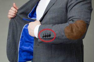 Зачем делают пуговицы на рукавах пиджака