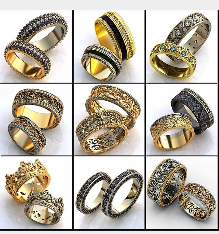 какие бывают кольца