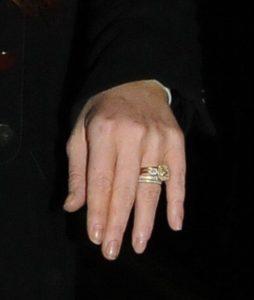 на каком пальце вдовы носят кольцо