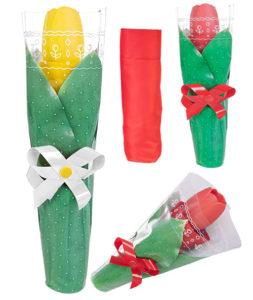 Как упаковать зонт трость в подарок